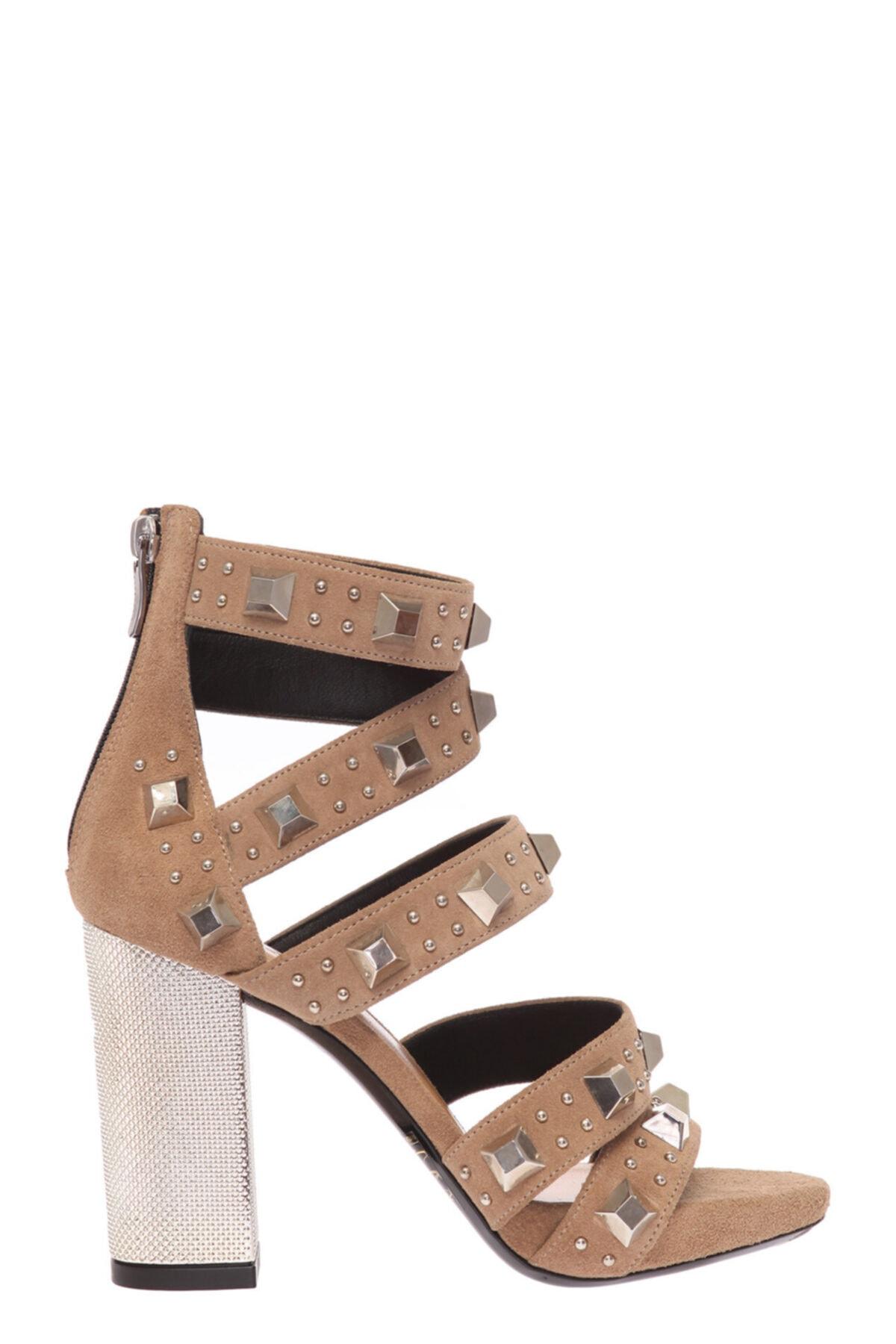 Barbara Bui Bej Sandalet 2