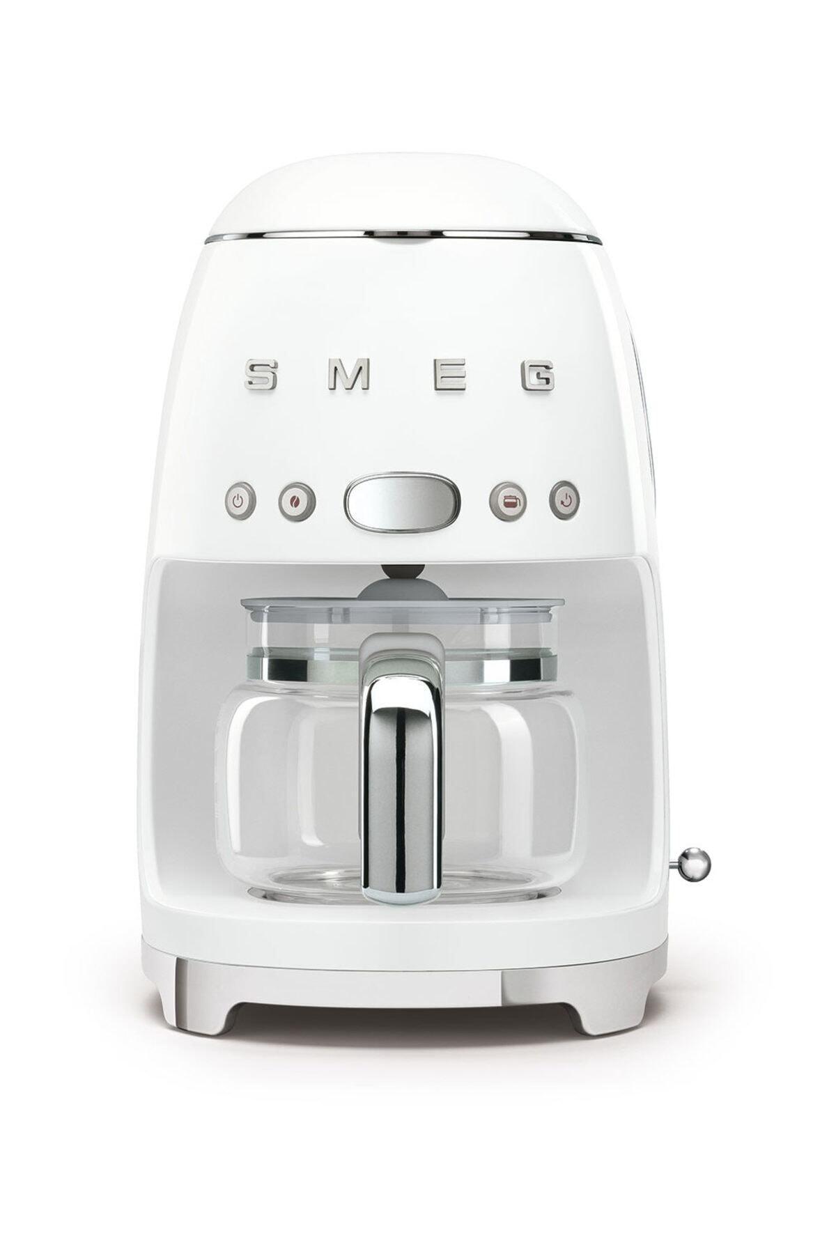 SMEG Dcf02wheu Filtre Kahve Makinesi Beyaz 1