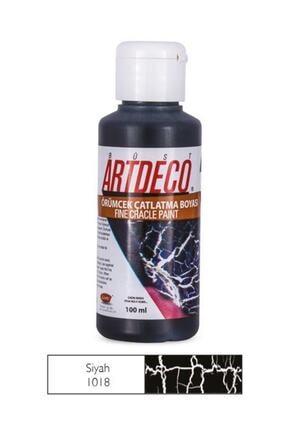 Artdeco Örümcek Çatlatma Boyası 1018 Siyah