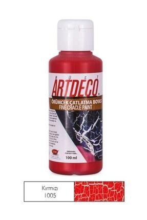 Artdeco Örümcek Çatlatma Boyası 1005 Kırmızı