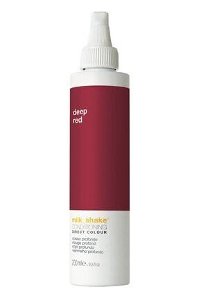 Milkshake Kırmızı Geçici Saç Boyası - Direct Color Deep Red 200 ml 8032274053477