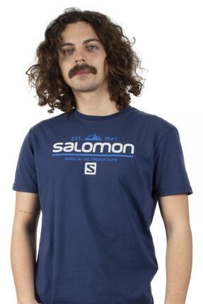 Salomon Lacivert Erkek Tshirt