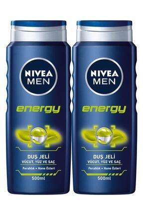 Nivea Men Energy Erkek Duş Jeli 500 ml x 2