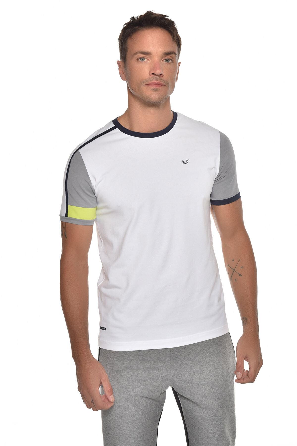 bilcee Beyaz Erkek Kısa Kol T-shirt Gw-9387 1