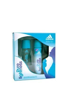 adidas Pure Lightness Edt 50 Ml - 150 Ml Kadın Deodorant Parfüm Seti 8697728661891