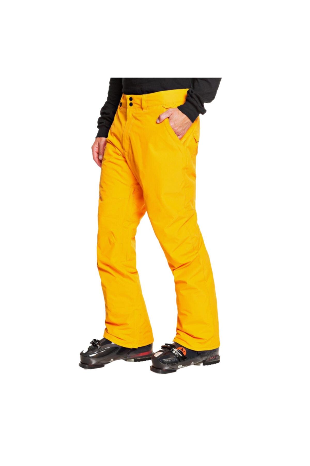Quiksilver Erkek Sarı Kayak Pantolonu EQYTP03146-NKP0 2