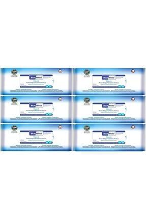 Bluewhite Yetişkin Hasta Vücut Temizleme Mendil-havlusu (6 Lı Set) 50 Yaprak Hijyenik