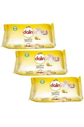 Dalin Sensitive Islak Havlu 52 Yaprak (3'lü Paket)