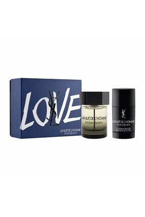 Yves Saint Laurent La Nuit De L'homme Edt Erkek Eau De Parfum Seti 100 Ml 3614273431378