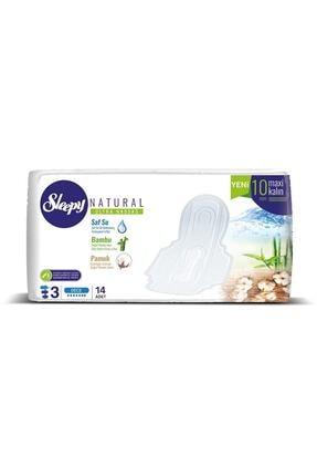 Sleepy Natural 3 Ultra Hassas Maxi Kalın Gece Hijyenik Ped 10 mm 70 Adet 14x5