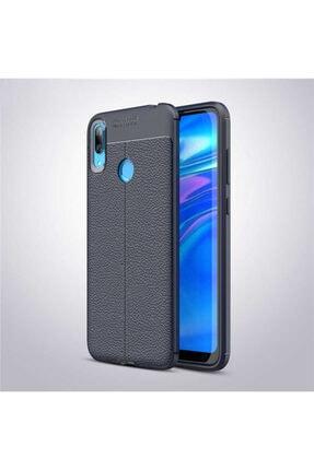 Huawei Y7 Prime 2019 Kılıf Deri Görünümlü Ultra Ince Niss Model