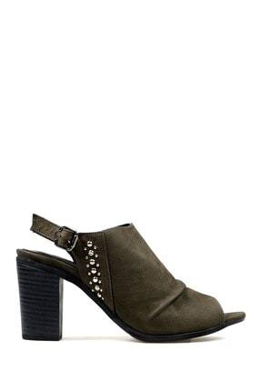 Hammer Jack Haki Nubuk Kadın Ayakkabı 538 116-z