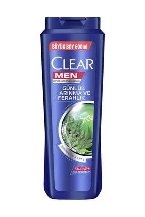 Clear Men Günlük Arınma ve Ferahlık Şampuan 600 ml