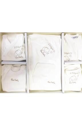 Pierre Cardin Baby Tulumlu Organik 10'lu Hastane Çıkış Seti