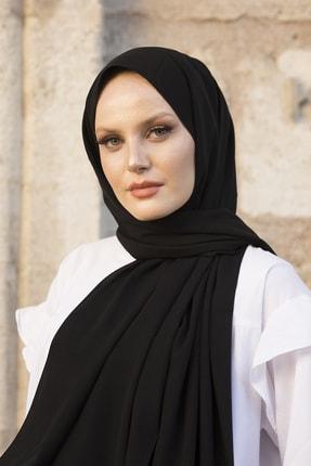 Stella Medine Ipeği Lux Siyah Şal