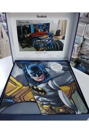 Özdilek Lisanslı Tek Kişilik Ranforce Nevresim Takımı Batman Yellow Sarı