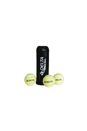 Delta Vakumlu Tüpte Tenis Topu 3'lü