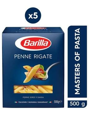 Barilla Kalem / Penne Rigate Makarna 500 Gr 5'li