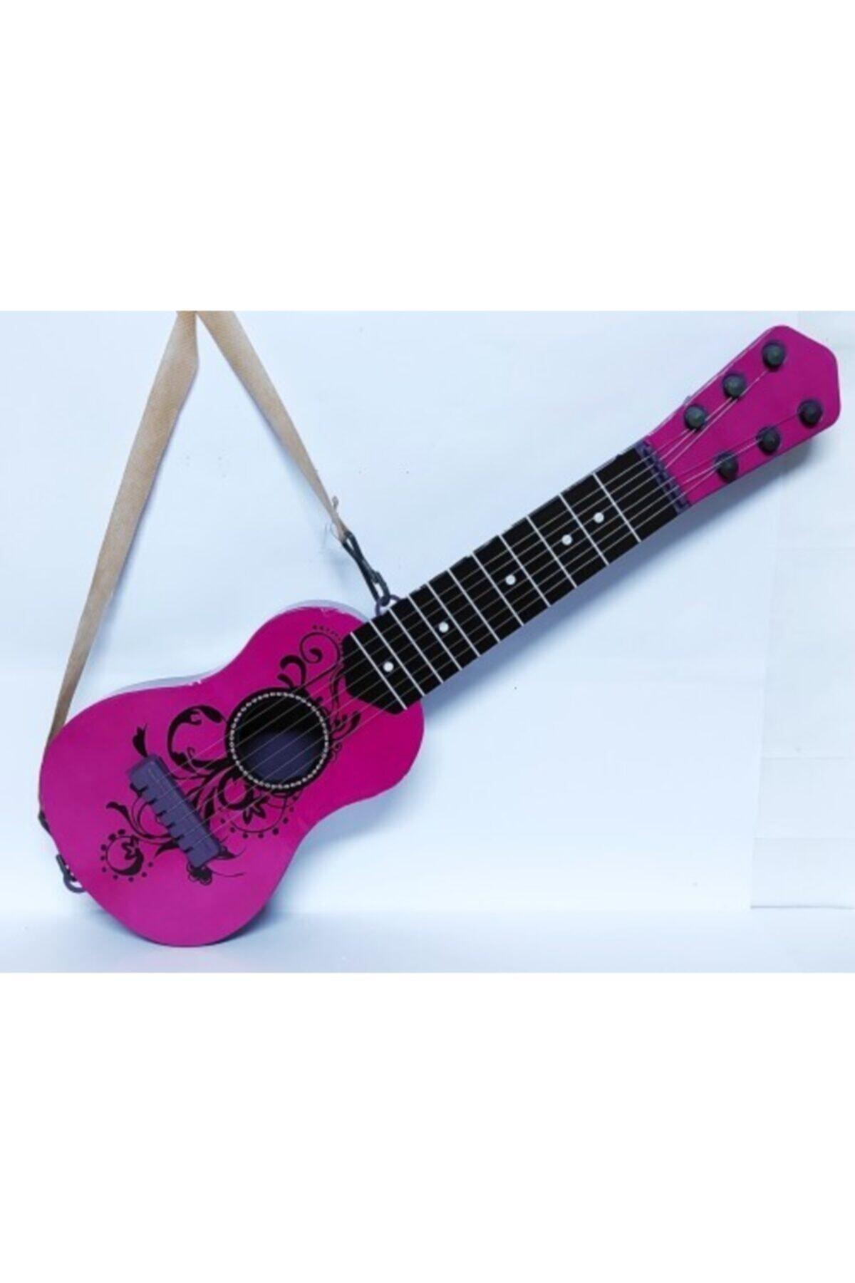 Brother Toys 48 Cm. Boyunda Oyuncak Pembe Ispanyol Gitar 1