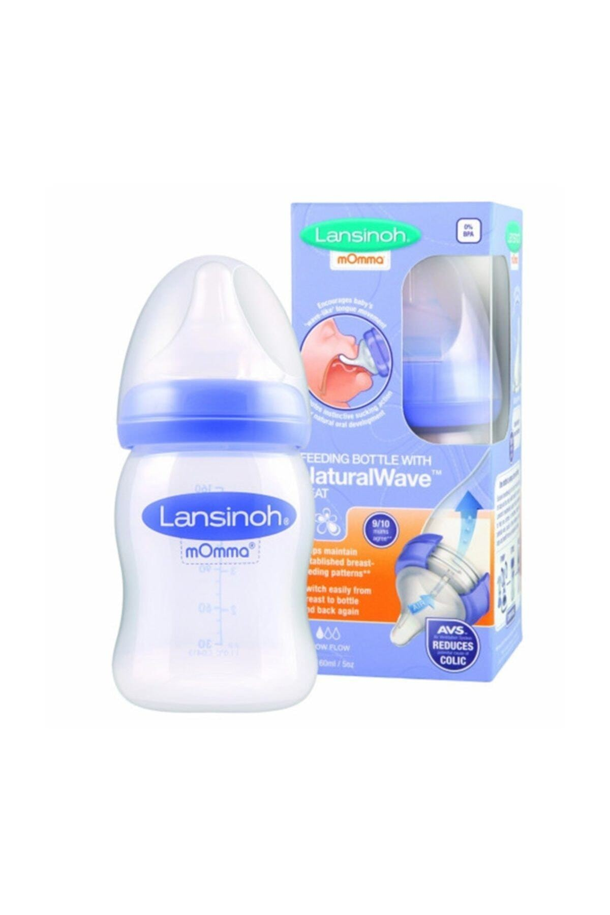 LANSINOH Natural Wave Biberon 160 Ml 1