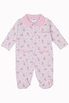 Pierre Cardin Baby Pierre Cardin Kız Bebek Cepli Tulum Gökkuşağı