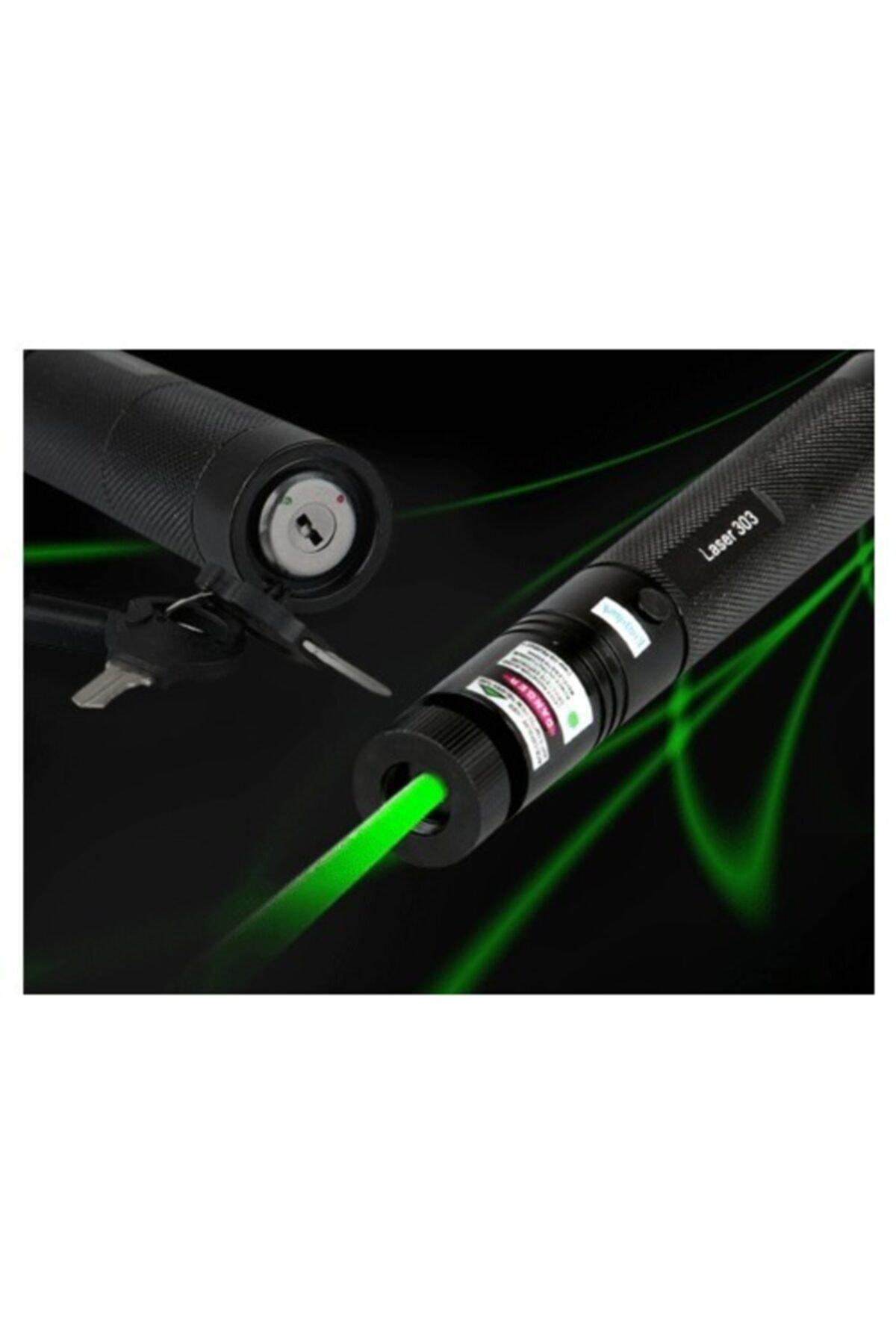 yopigo Turbo X Yeşil Şarjlı Lazer Pointer 5000 mw 1