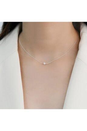 BERCHINE Kadın Choker Inci Gümüş Kolye 925 Ayar
