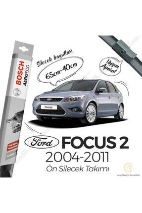 Bosch Aeroeco Ford Focus 2 2004 - 2011 Ön Muz Silecek Takımı