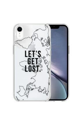 Apple Microsonic Iphone Xr Desenli Kılıf Harita