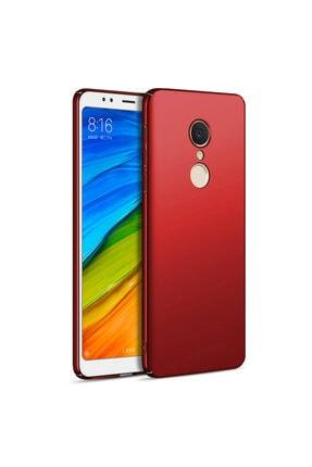 Xiaomi Microsonic Redmi 5 Plus Kılıf Premium Slim Kırmızı