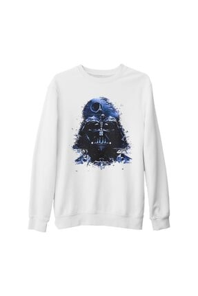 Lord T-Shirt Unisex Beyaz Star Wars  Identities Kalın Sweatshirt