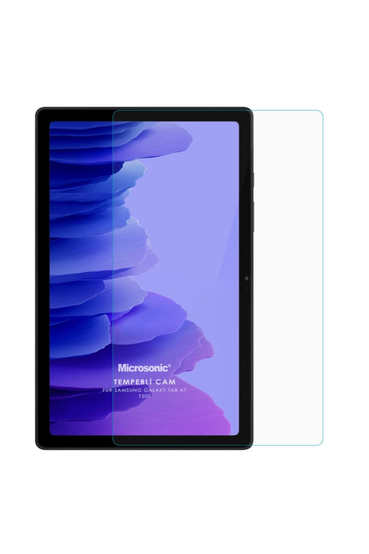 Samsung Microsonic Galaxy Tab A7 T500 Tempered Glass Cam Ekran Koruyucu 2