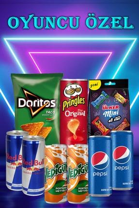 Pringles Oyuncu Özel Paketi 9-parça