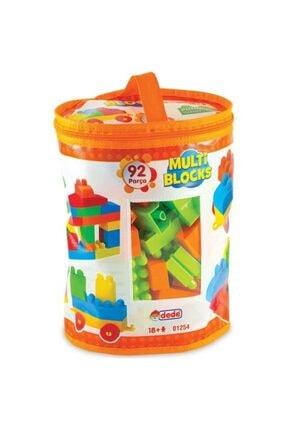 DEDE Eğitici Multi Blocks 92 Parça Oyuncak 01254