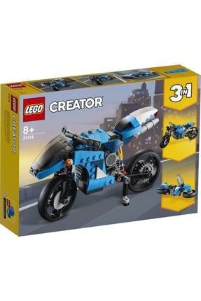 LEGO Creator 3'ü 1 Arada Süper Motosiklet 31114