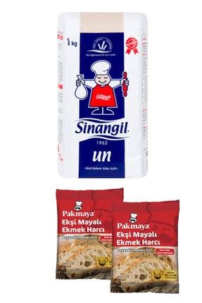 Sinangil Çok Amaçlı Un 1 Kg. + 2 Paket Pakmaya Ekşi Mayalı Beyaz Ekmek Harcı (30 G.)