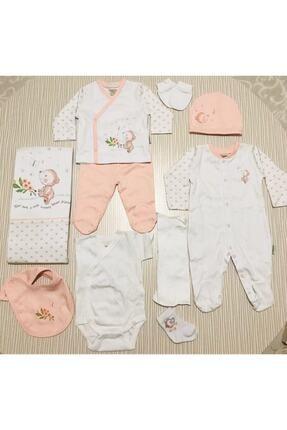 Ciccim Baby Ayılı Tulumlu 10 Parça Hastane Çıkışı