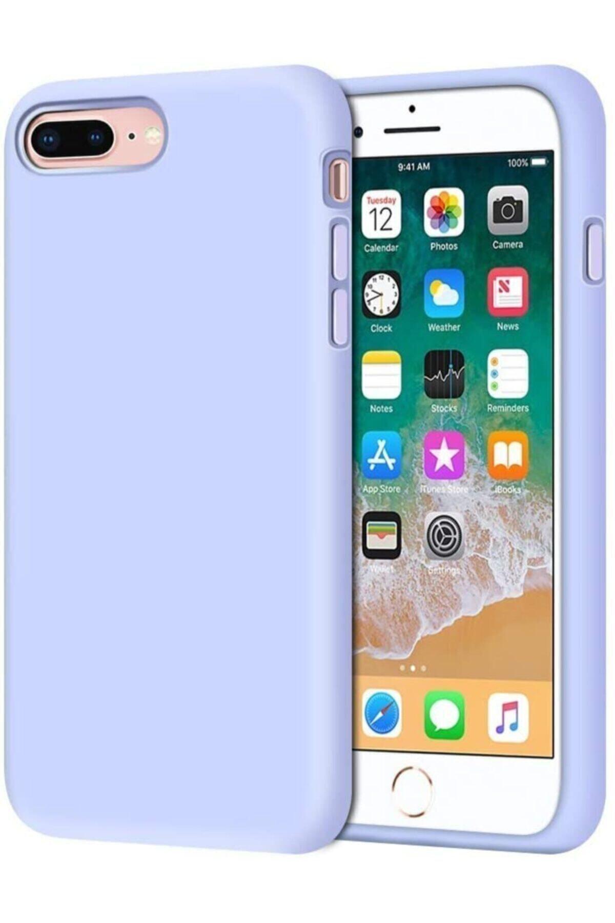 Mopal Iphone 7 Plus 8 Plus Içi Kadife Lansman Silikon Kılıf 1