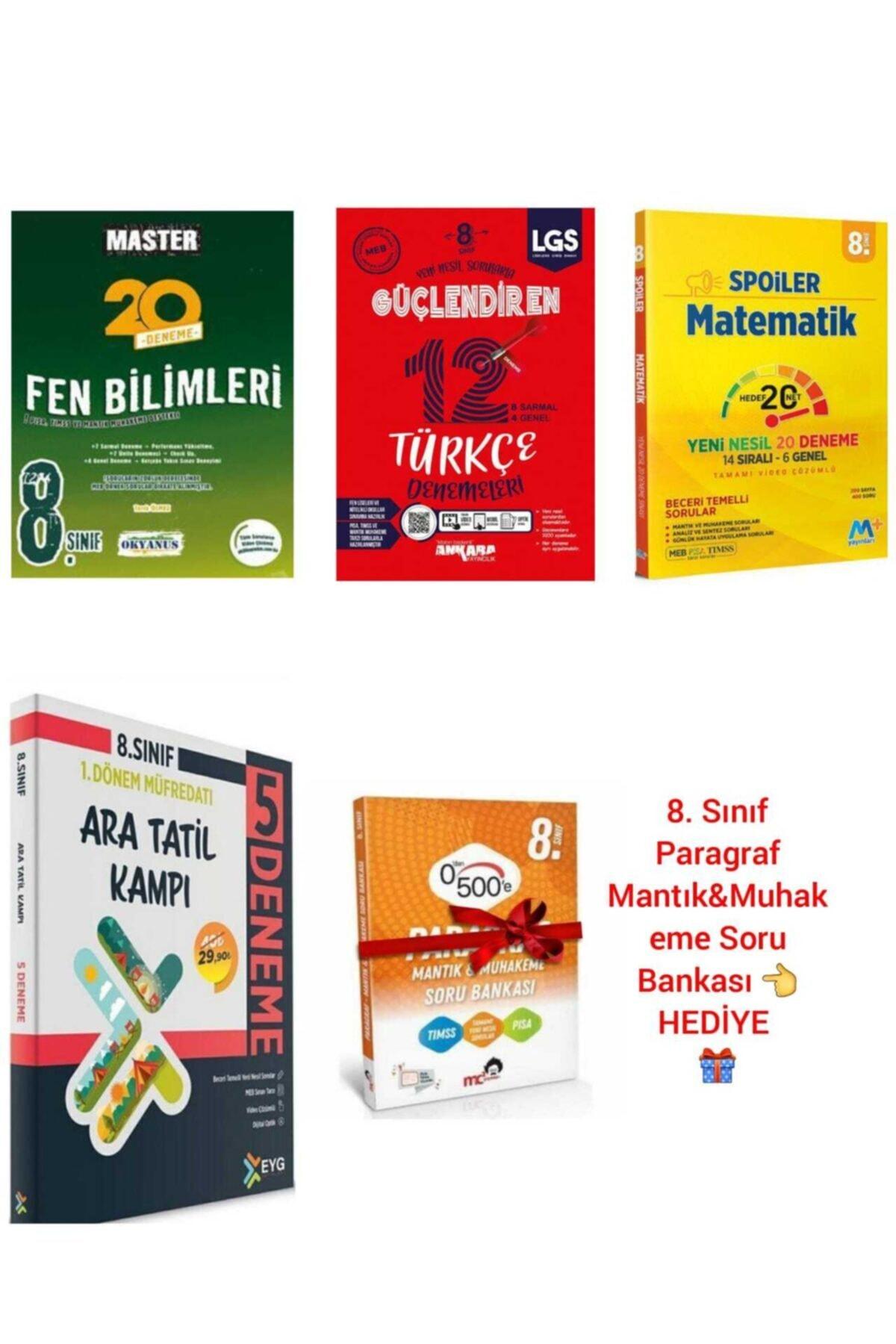 Okyanus Yayınları 8. Sınıf Lgs Ara Tatil Kampı & Deneme Seti Okyanus-ankara-martı-eyg Yayıncılık 1