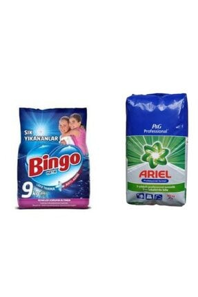 Bingo Toz Deterjan 9 kg + Toz Deterjan 10 Kg