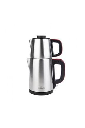 Karaca Tea Break Çay Makinesi Inox Kırmızı