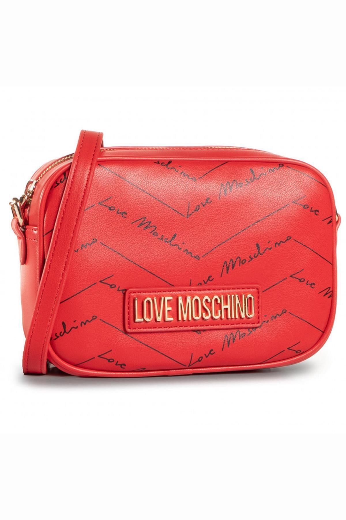 Love Moschino Love Moschıno Jc4246pp0bkh0 Kırmızı Kadın Omuz Çantası 1