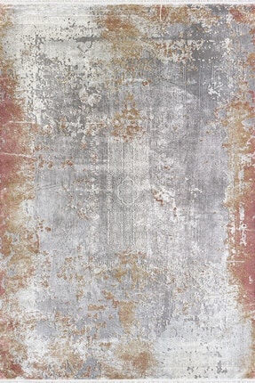 Pierre Cardin Halı Woven 100 Modern Turuncu Desenli Halı  Wm00b