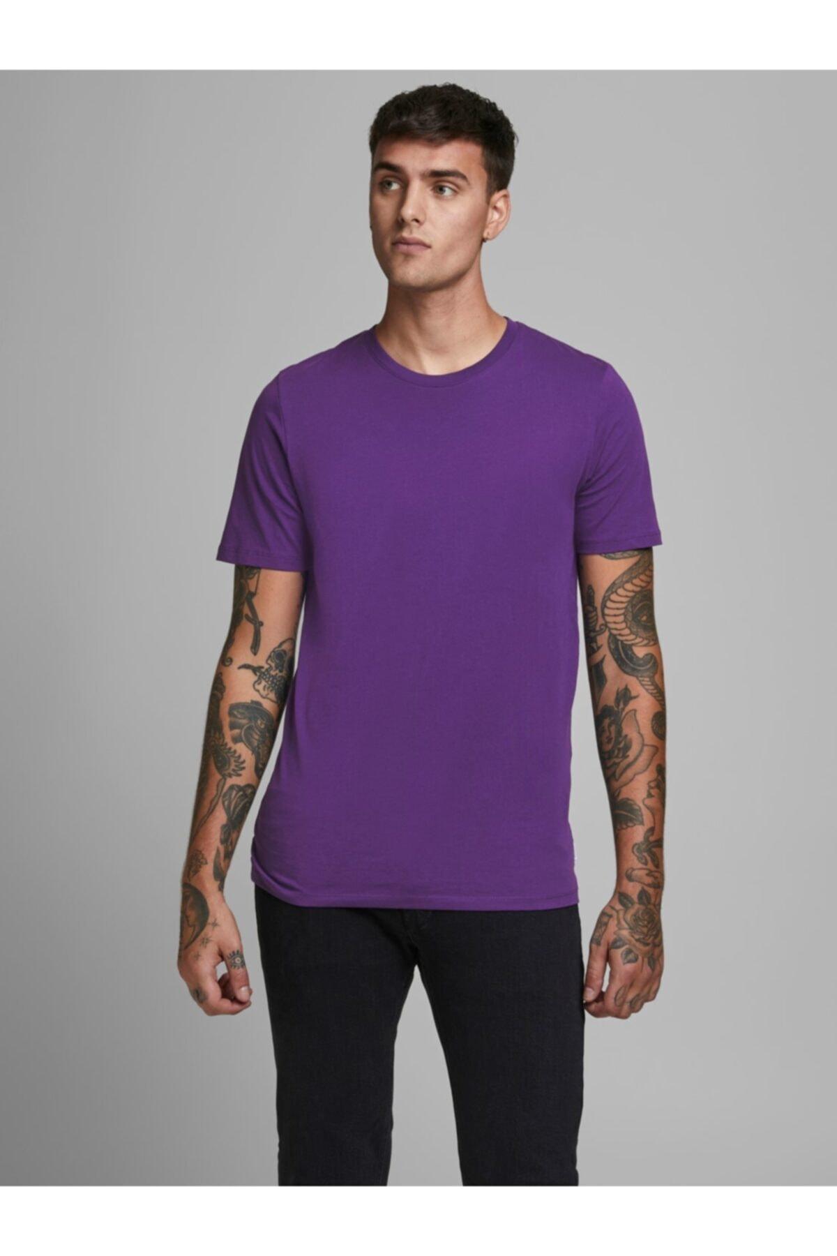 Jack & Jones Erkek Jjeorganıc Basıc Tee Ss O-neck Noos T-shirt 12156101 2