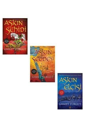 Kapı Yayınları Ahmet Turgut Aşkın Şehidi + Aşkın Secdesi + Aşkın Elçisi Set 3 Kitap