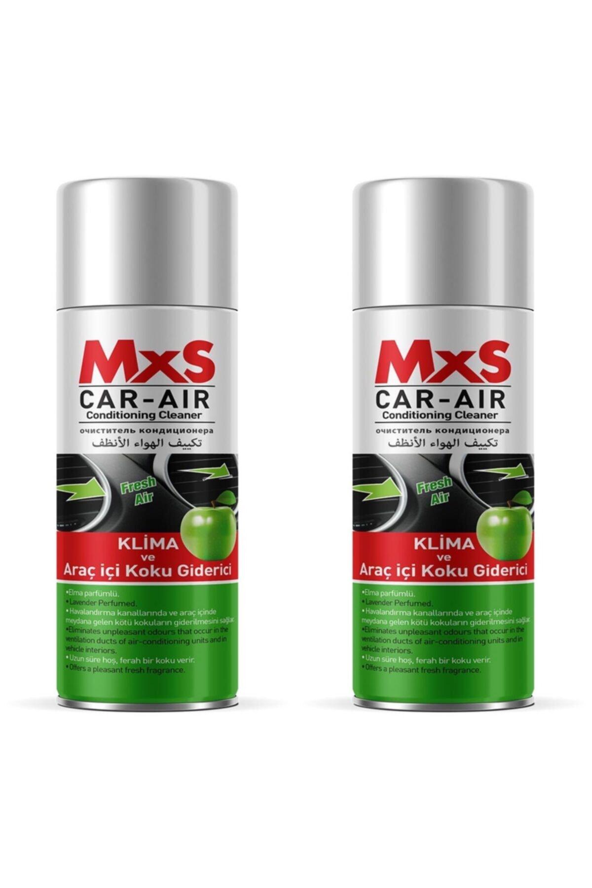 MxS Fresh Koku Bomba Araç Içi Ve Klima Koku Giderici Elma Kokulu 200 ml - 2 Adet 1