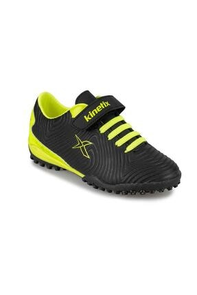 Kinetix Erkek Çocuk Siyah  Halı Saha Ayakkabısı