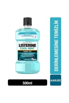Listerine Zero Daha Hafif Nane Sıfır Alkol Ağız Gargarası 500 ml