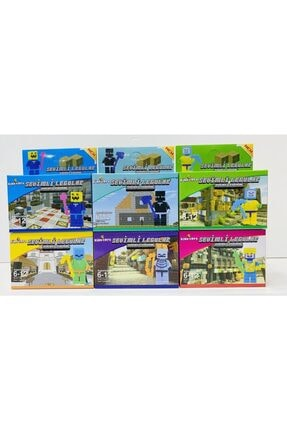 MINECRAFT Lego Oyuncak 6 Farklı Model Birden Toplam 103 Parça Maykıraft Lego