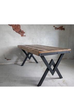 Deryawood Masif Mobilya Deryawood Masif Ağaç Yemek Masası 85*190*76 Cm